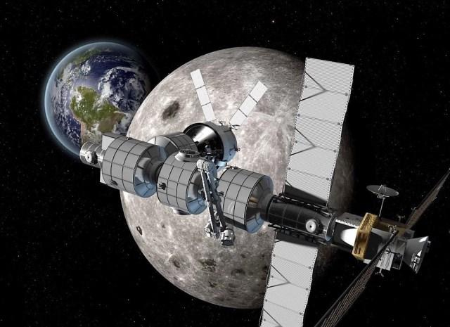 Boeing Deep Space Gateway concept