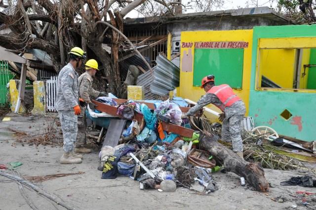 Puerto Rico debris