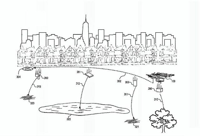 Drone fragmentation