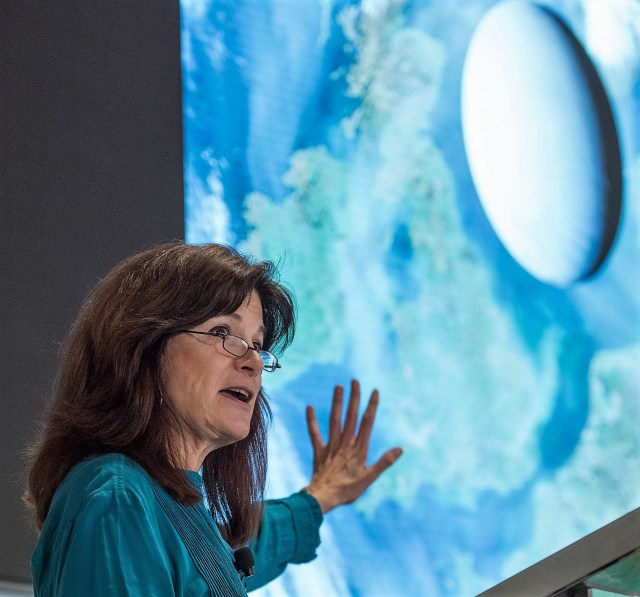 Carolyn Porco and Enceladus