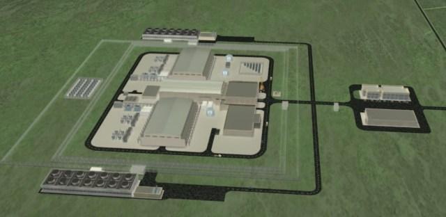 NuScale facility