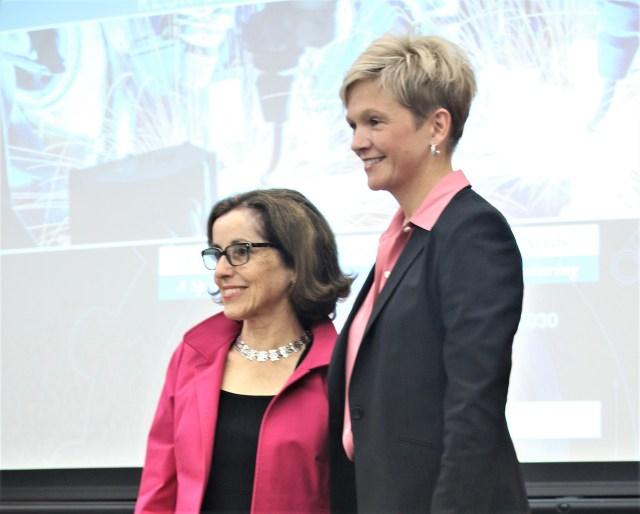 France Cordova and Heidi Capozzi