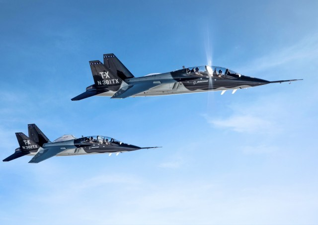 T-X training jets