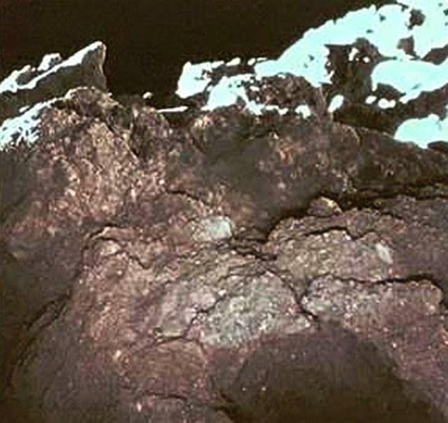 Ryugu's surface