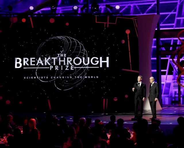 Breakthrough Prize ceremony
