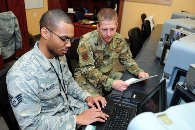 National Guard at work