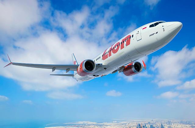Lion Air 737 MAX jet