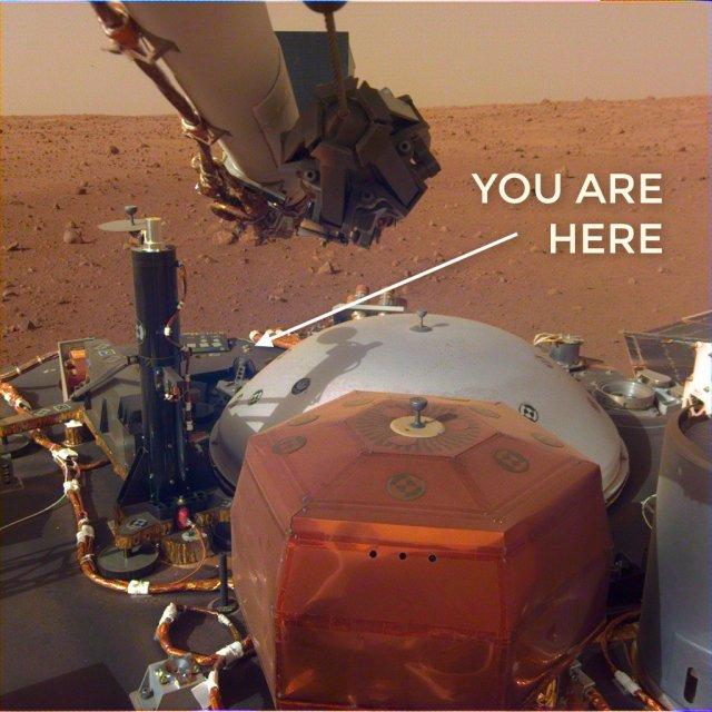 Mars InSight photo