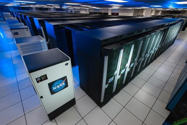 Pleiades supercomputer network