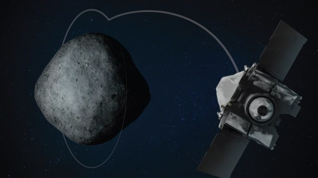 OSIRIS-REx orbital path