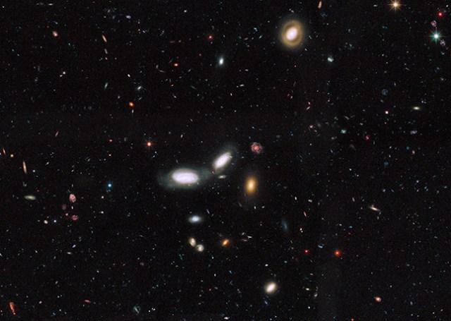 Hubble galaxy survey