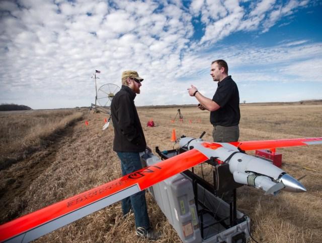 North Dakota drone