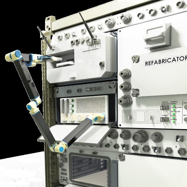 Robot arm and Refabricator