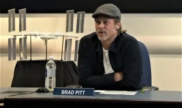 Brad Pitt at NASA