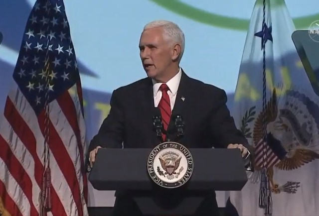 VP Mike Pence at IAC