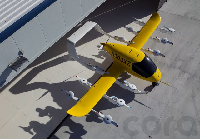 Cora flying taxi