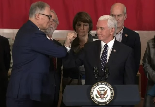 Gov. Inslee and VP Pence