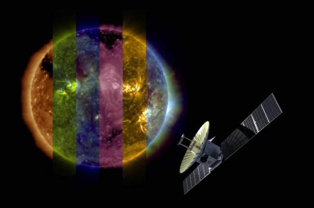 Xcraft observing sun