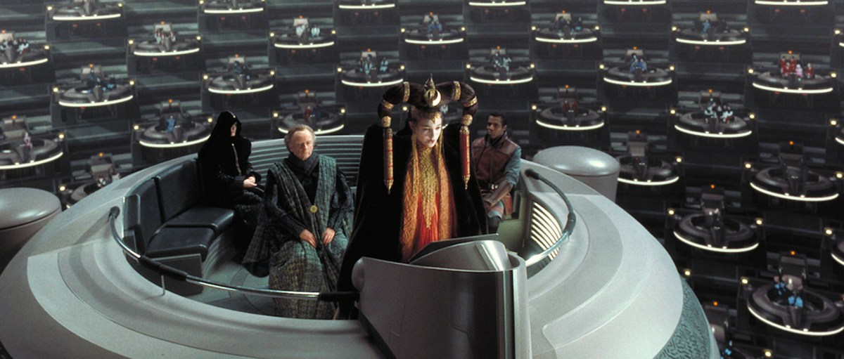 Queen Amidala in the Galactic Senate