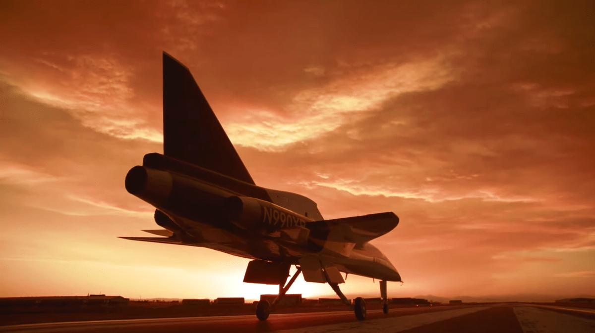 XB-1 plane