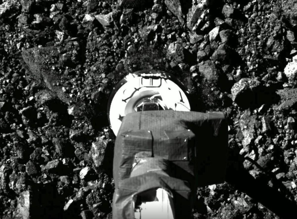 OSIRIS-REx sampling