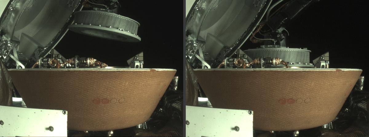 OSIRIS-REx sample storage