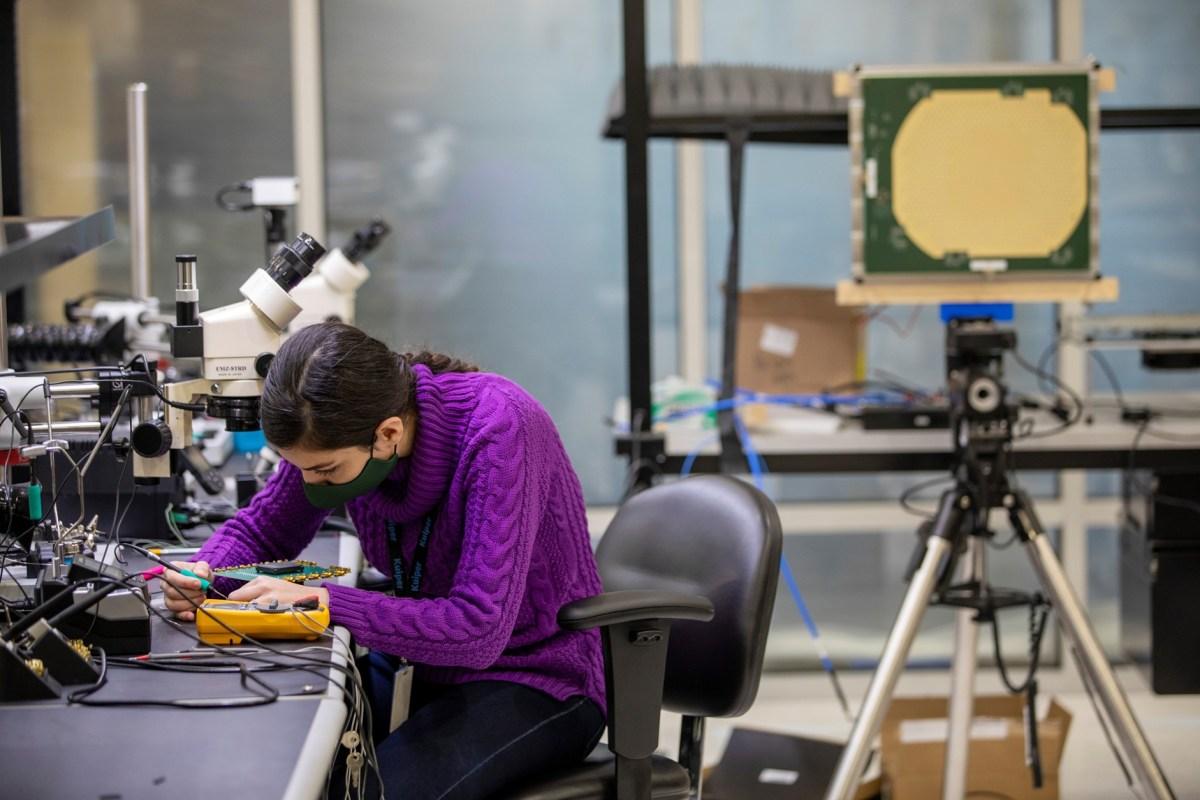Project Kuiper hardware lab
