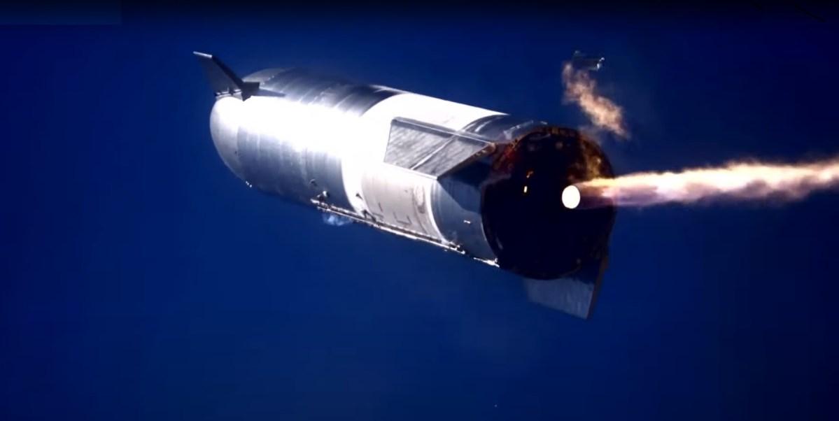 Starship flip