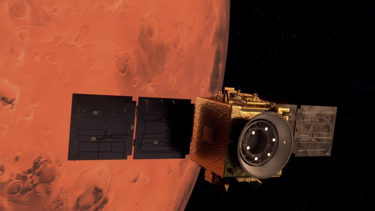 Hope Mars orbiter