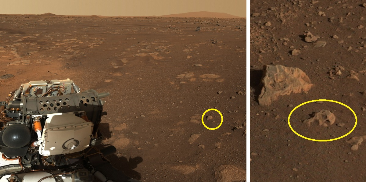 Mars views from Perseverance rover