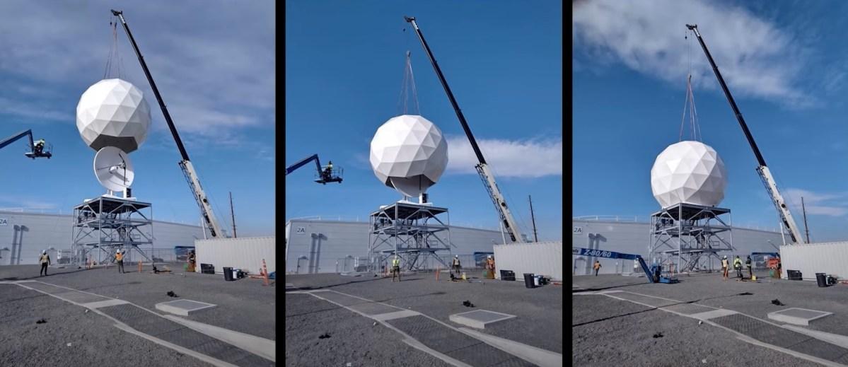 Azure Orbital ground station