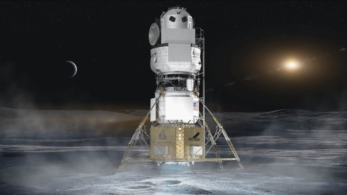 Blue Origin / National Team lunar landing system