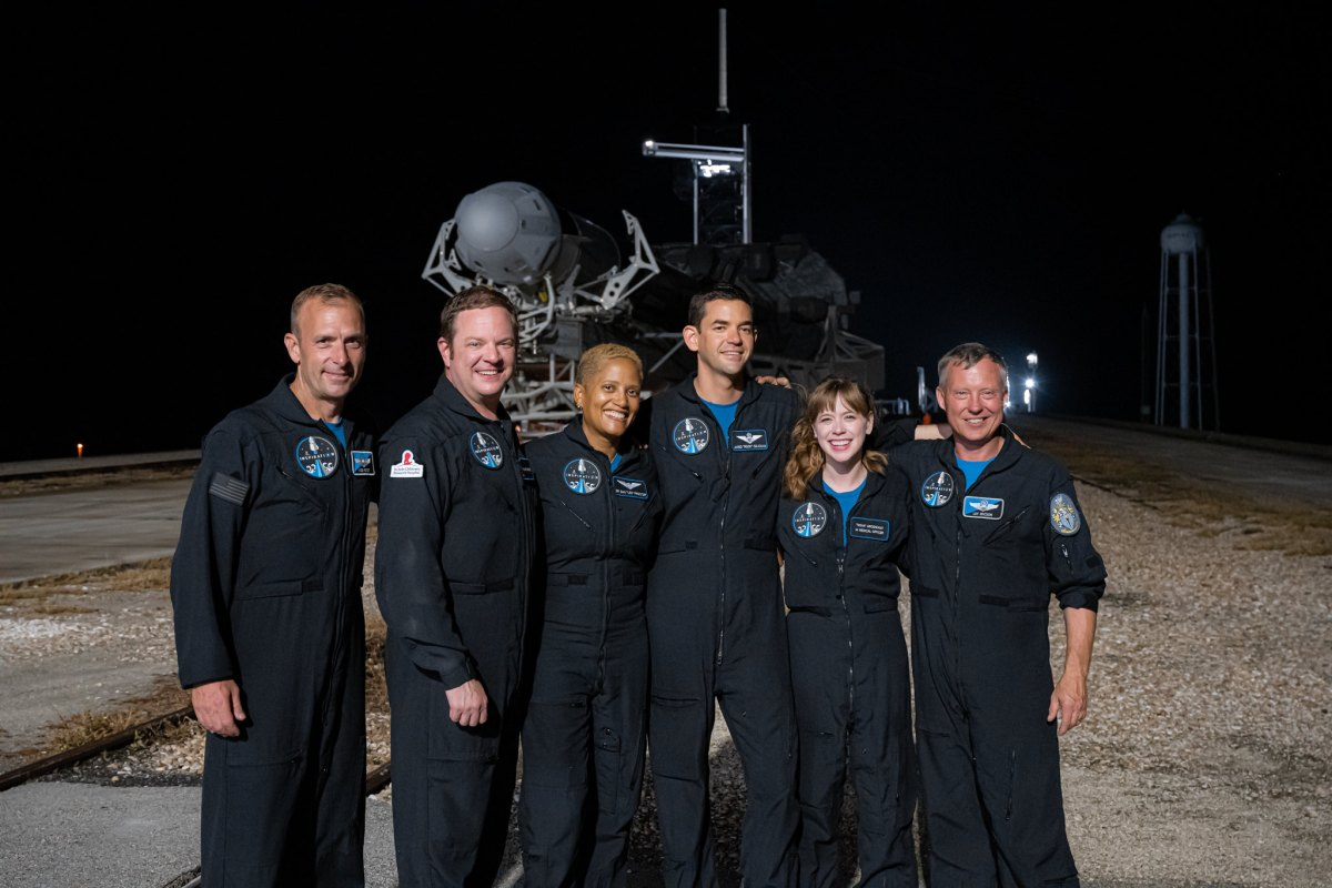 Inspiration4 mission directors and crew