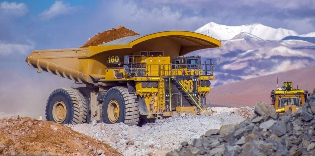 Anglo American haul truck