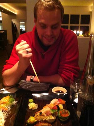 L har siktat in sig på sushin.