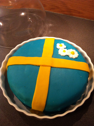 Glad sommar-tårta!