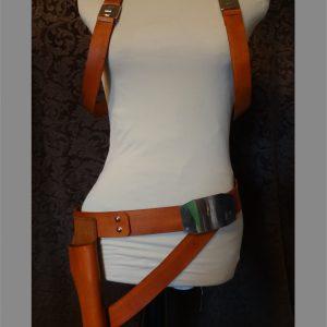 mara jade costume harness, belt and holster