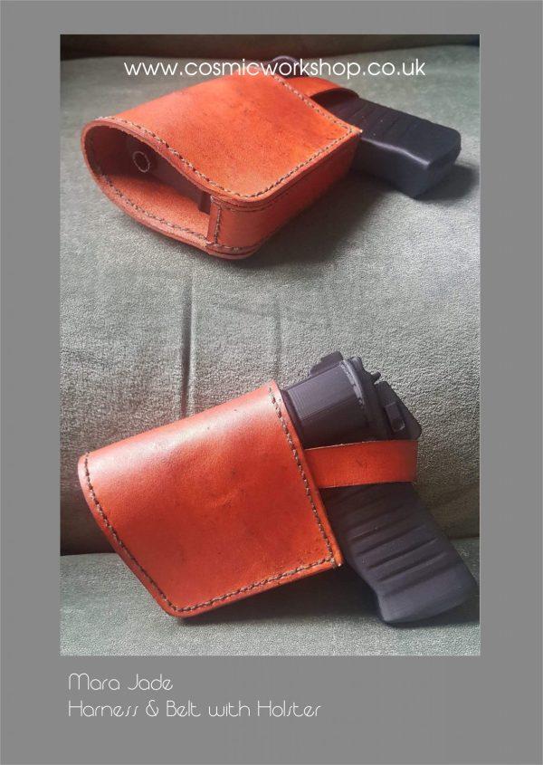 Mara Jade back mounted blaster holster