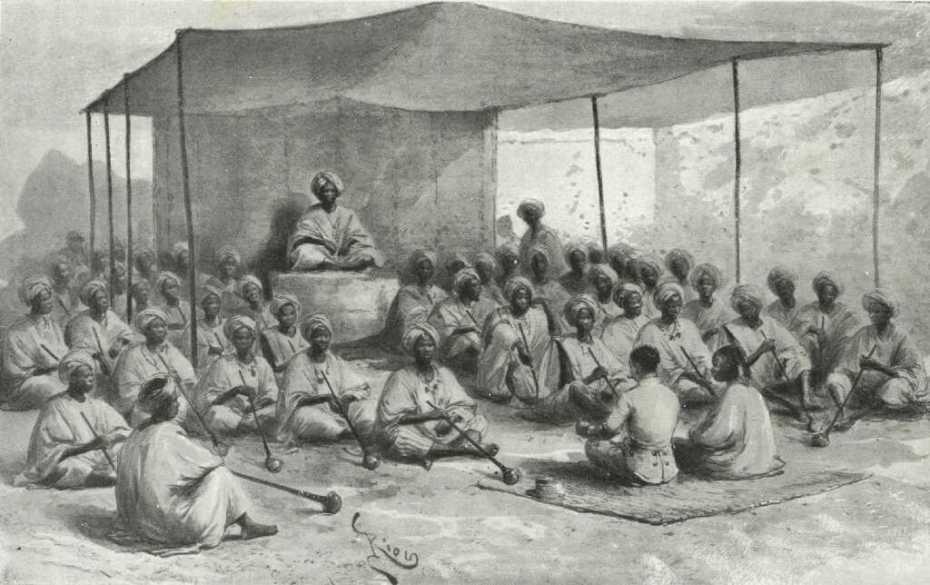 A Bakousso. Réception du Ghaladima