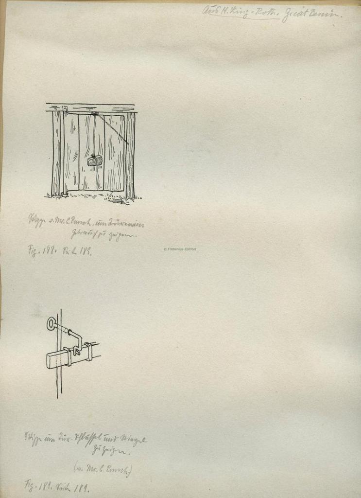 benin lock and key mechanism