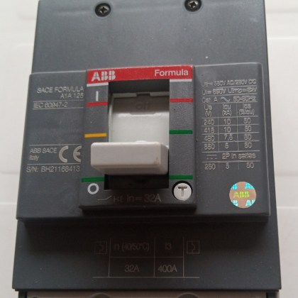 63A, 3P MCCB Formula, ABB