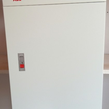 6 way 3 Phase TP & N ABB Distribution Board complete