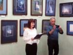 Выставка «Соединяя Небо и Землю» художника-космиста Олега Высоцкого в Прокопьевске