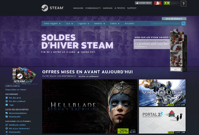 Steam Winter Sales 2017