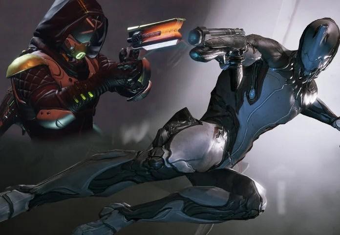 Warframe vs Destiny 2 - Comparatif - combat