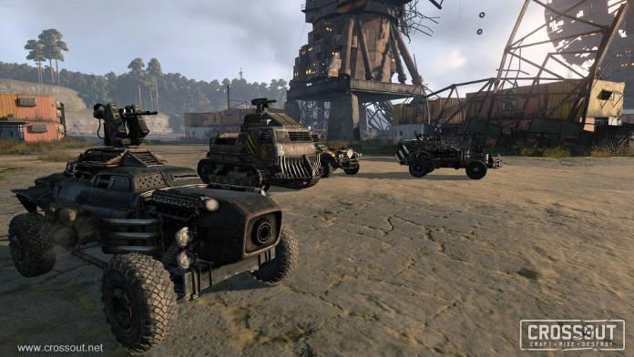Jeux PS4 Gratuits - Crossout