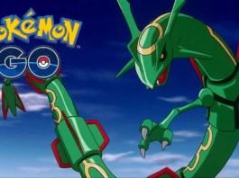 Legendary Pokemon Rayquaza disponible dans Pokemon GO, durée limitée