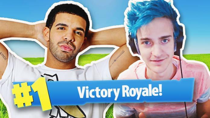 Drake et le streamer Ninja battent un record en ligne