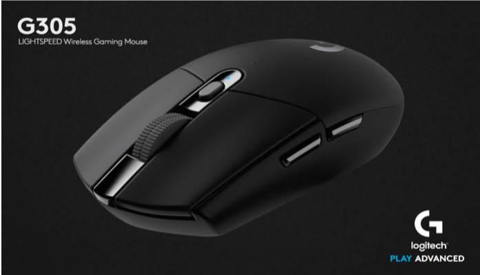 Logitech annonce la G305, une souris de jeu sans fil avec 250 heures autonomie