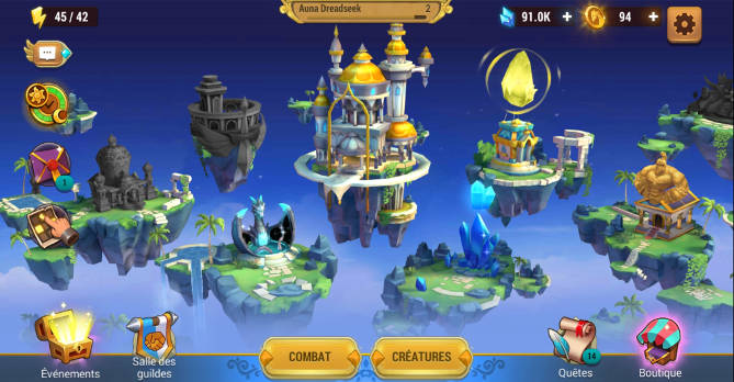 Test - Might & Magic Elemental Guardians - L'univers M&M sur mobile - Village